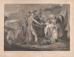 francis legat king lear weeping over the body of cordelia