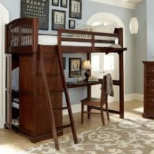 Bunk Bed With Storage And Desk Loft Beds Rosenberry Rooms