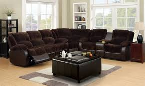 Sectional Sofa With Recliner by Theater Style Leather Sectional