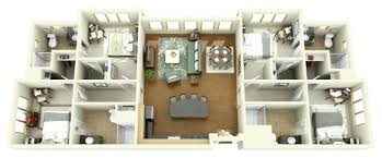 4 bedroom apartment floor plans 4 bedroom apartments centument co