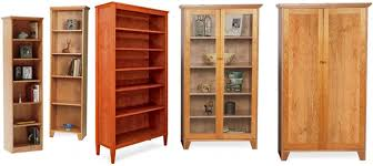 Mission Style Bookcase Custom Bookcases Make Spring Cleaning A Snap Vermont Woods Studios
