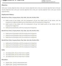 Resume Template In Word 2007 Resume Templates Microsoft Word 2007 Microsoft Homely Design