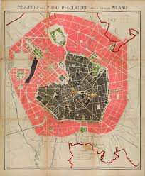 Milan Italy Map Urban Projects Map Of Milan 1884 Inspiration Maps