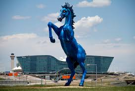 Denver Airport Murals Conspiracy Theory by Locals Caused Quite A Stir When They Laid Their Eyes On Blucifer