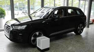 Audi Q7 Black Edition - audi forum ingolstadt shows off black q7 3 0 tdi quattro