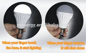 cool touch light bulbs magic bulb finger touch rechargeable led bulb battery powered light