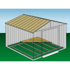 Floor Plans For Sheds by Amazon Com Arrow Sheds Fb5465 Floor Frame Kit For 5 U0027x4 U0027 U0026 6 U0027x5