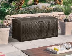 furniture excellent cream outdoor suncast deck box best suncast