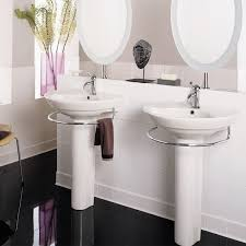 24 inch pedestal sink bathroom sinks ravenna 24 inch pedestal sink white my luxury