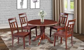 Dining Room Tables With Leaves Alcott Hill Chesterton Round Drop Leaf Dining Table U0026 Reviews