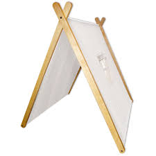 Wooden Tent by Curioo Wooden Tent White Kiddicare Com