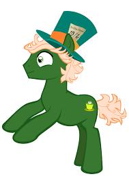 Mad Hatter Pony Oc By Gingerdoodle On Deviantart
