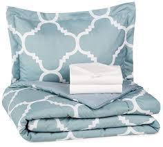 Dusty Blue Duvet Cover Top 10 Best Cute Dorm Bedding Sets