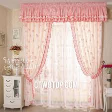 faux silk pink living room butterfly curtains with room darkening