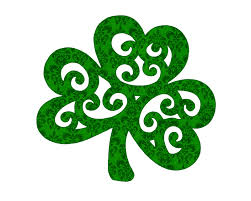 coloring page gorgeous shamrock st patrick coloring page