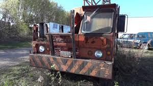 junkyard car youtube bantam crane truck junk yard finds youtube