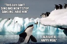Happy Feet Meme - how happy feet could have ended imgflip