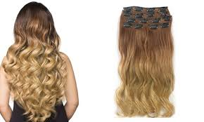 clip on hair extensions 24inch todo 24inch curly ombre style 7 16 clip hair