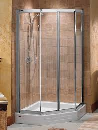 38 Inch Neo Angle Shower Doors Maax Collection Illusion Neo Angle Corner Shower Door Unit