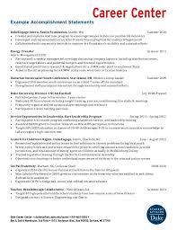 accomplishment resume sample eliolera com