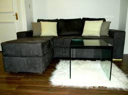 L Shaped Sleeper Sofa Furniture Small Black L Shaped Sleeper Sofa For Small Space Feat