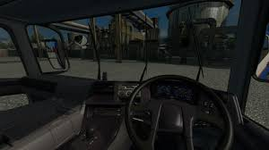 mitsubishi fuso interior mitsubishi fusosuper great v1 0 1 28 truck mod euro truck