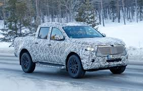 lexus pickup truck mercedes pickup truck looks production ready in latest spy photos