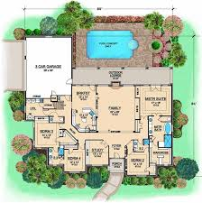 1 Story 4 Bedroom House Floor Plans 85 Best Floor Plans Images On Pinterest Architecture House