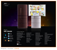 mitsubishi electric refrigerator folio series