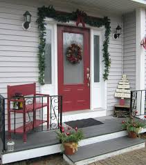Affordable Chic Outdoor Decor Ideas by Decorations Christmas Decorations For Your Front Porch Fall