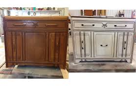 graphite chalk paint kitchen cabinets reborn home furnishings befor after