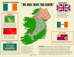 Irish Republican Army Flag We Only Want The Earth Alt Irish Revolution Imaginarymaps