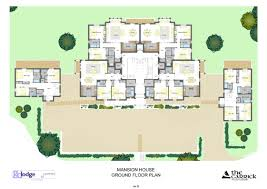 luxury home floor plans with pictures modern mansion house plans country bungalow floor manor soiaya