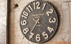 Vintage Antique Home Decor Keywords Big Wall Clocks Industrial Rustic Vintage Antique