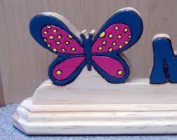 Butterfly Desk Accessories Butterfly Desk Decor Etsy