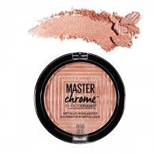 Maybelline Master Chrome maybelline facestudio master chrome metallic highlighter
