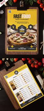 menu flyer template fast food restaurant menu flyer template psd psdfreebies