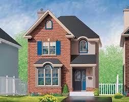 brick home floor plans brick house plan in two versions 80212pm architectural designs
