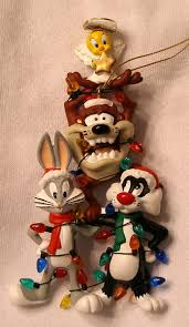 looney tunes ornaments marvin the martian porky pig sylvester