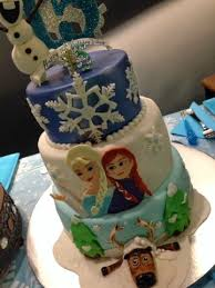 frozen themed birthday cake savvy kitchen