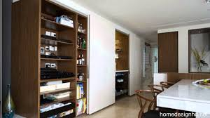 small space solutions hidden kitchen from minosa design hd youtube