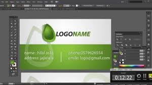 professional business card design for your business in adobe