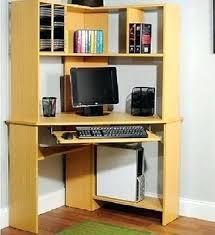 desk solid oak corner desk with hutch small corner computer desk
