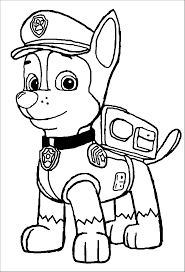coloring paw patrol skyes helicopter coloring page christmas