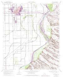 Map Of Yuma Arizona by Topographic Maps Of Yuma Arizona Area