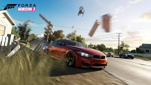 bmw m4 widebody watch our first hands on gameplay footage with forza horizon 3