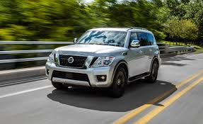nissan armada 2017 platinum review 2017 nissan armada test u2013 review u2013 car and driver