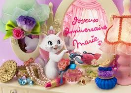 girlie aristocats marie happy birthday 3d