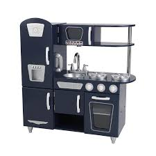 amazon com kidkraft navy vintage kitchen toy toys u0026 games