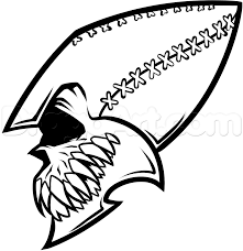 football helmet drawing seahawks clipart library free clipart